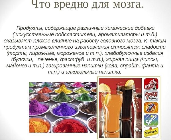 Анти-питательные вещества для мозга