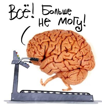 Мозг устал