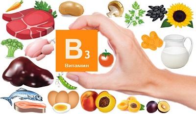 Витамин B3 для мозга и нервной системы взрослого