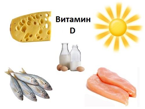 Витамин D где содержится
