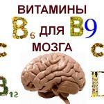 Витамины для мозговой активности и памяти