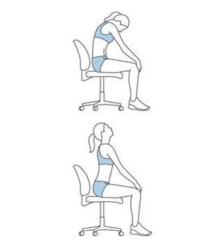 Упражнения в кресле