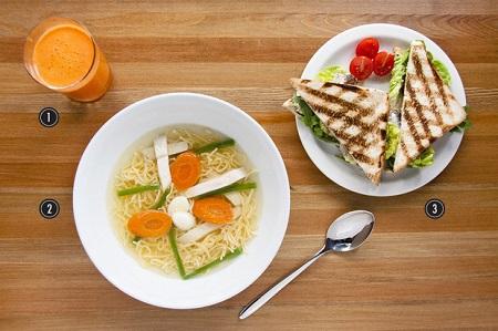 Жирный завтрак при похмелье
