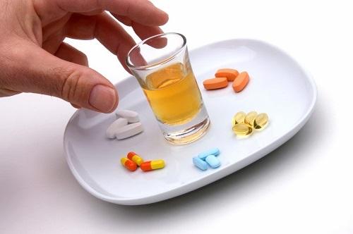 Алкоголь и лекарства - сочетания