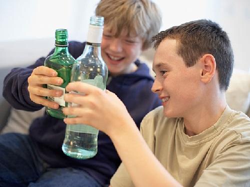 Помощь ребёнку алкоголику