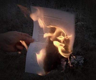 Сожгите свои мысли