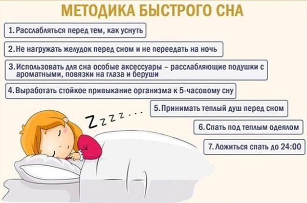 Как быстро уснуть если бессонница
