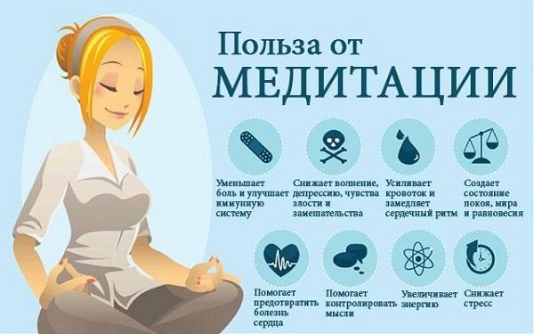 Польза медитации от стресса