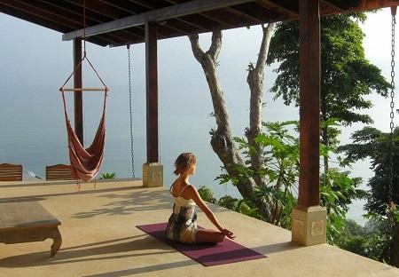 Тихое место для медитации