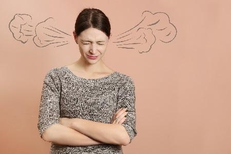 Выход эмоций агрессии