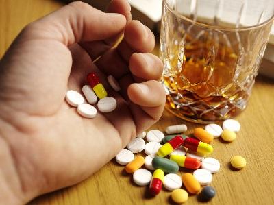 Алкоголь и депрессанты